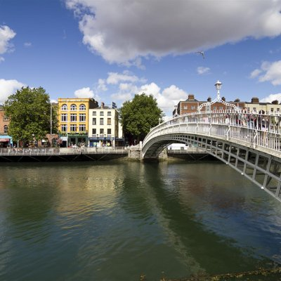 L'Ha'Penny Bridge di Dublino